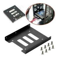 """2.5"""" to 3.5"""" SSD Metal Adapter Mounting Bracket Hard L7Y0 Drive For"""