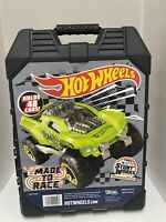 Hot Wheels 48- Car storage Case With Easy Grip Carrying 48-car, 48-car
