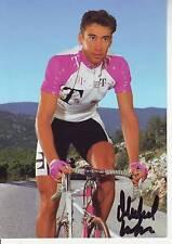 CYCLISME carte cycliste MICHEL LAFIS  équipe T-TELEKOM 1996 signée