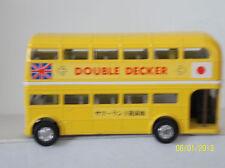 """SAKURA MADE IN JAPAN DOUBLE DECKER BUS. 4 7/8"""" long. NO BOX"""