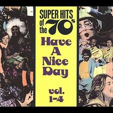 SUPER HITS OF THE 70S DECADE. HAVE A NICE DAY! A COMPLETE VOL 1-4 RHINO BOX SET.