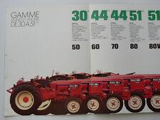 Prospectus   RENAULT    Tracteur   30 à 51 CH                   Non daté