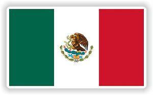 Mexico flag Bandera Sticker Bumper Vinyl Decal bike pegatina car tablet laptop