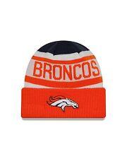 Denver Broncos NFL New Era Navy/Orange Biggest Fan 2.0 Cuffed Knit Hat/Cap