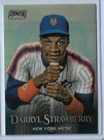 2019 Topps Stadium Club Chrome Refractor Darryl Strawberry SCG-51 NY Mets