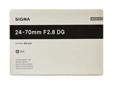 Sigma Art 24-70mm F/2.8 DG OS HSM Lens For Canon (Black)