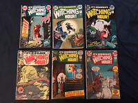 IT'S 12 O'CLOCK THE WITCHING HOUR! lot of 6 comics: #7,20,23,24,33,34: AVG VG-