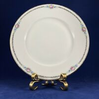"""Edelstein Bavaria 1045 Pink Roses /chain & gold trim SALAD PLATE 8 5/8"""" GERMANY"""