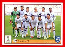 FIFA 365 2015-16 PANINI 2016 -Figurina Stiker- n. 28 - CRUZ AZUL FC -New