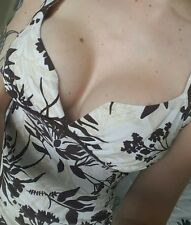 JANE NORMAN size 10 pretty top low cut gypsy top