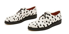 PAUL SMITH WHITE BLACK SPOT PLATFORM CREEPERS SHOES SZ 10 UK / 11 US