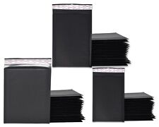 Black Kraft 4x8 5x9 6x10 Padded Shipping Bubble Mailers Envelopes Combo Pack