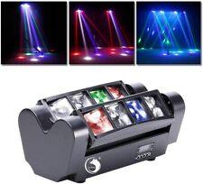 Lichteffekt UKing Head LED DJ Partylicht Bühnenlicht 4 Modi DMX Modus schwarz