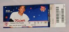 Minnesota Twins Vs Kansas City Royals 6/30/14 Ticket Stub