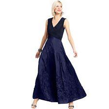 Patra Ltd •Womens 10 Sapphire BLUE Sleeveless Long Evening Dress Gown NEW W/Tags
