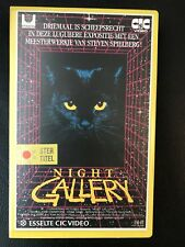 Night Gallery Ex-Rental Vintage Big Box VHS Tape English with dutch subs