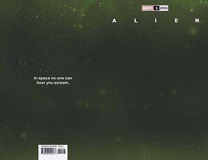 (2021) MARVEL COMICS ALIEN #1 1:200 WRAPAROUND SPACE VARIANT COVER