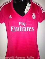 REAL MADRID Trikot Jersey Größe 2XS Adidas Damen Women +  PINK + Camiseta NEU
