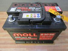 Moll BATTERIA m3 PLUS k2 BATTERIA AUTO + 12v 56ah 300a 500a + 83056 55035