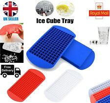 160 Grids Mini Ice Cube Tray Frozen Cubes Tray Maker Silicone Ice Mold Tool DIY