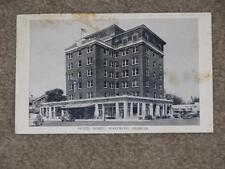 Hotel Ware, Waycross, Georgia, R.P.O.Jack & Albany