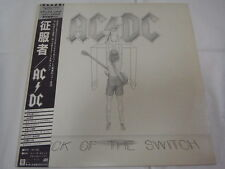 AC/DC-Flick Of The Switch JAPAN 1st.Press w/OBI Iron Maiden Scorpions Kiss Rush