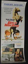 Ride a Wild Pony Original 14x36 U.S. Insert Movie Poster - (1976) ITB WH