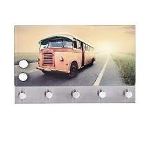 Wenko 50411100 penderie murale Magnétique Motif Bus Dimensions 30x19 cm