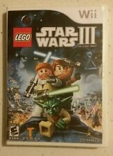 LEGO STAR WARS III THE CLONE WARS NINTENDO Wii GAME - FAST Free Post!