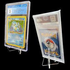 Pokemon: Graded Card Display Stand - Acrylic - PSA, CGC, GetGraded, Toploader