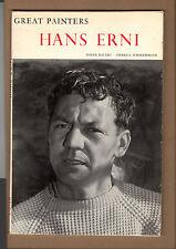 HANS ERNI ART ARTISTS PAINTING BIOGRAPHY LUCERNE SWITZERLAND