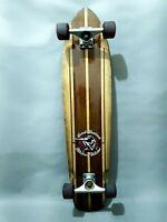 Sector 9 Longboard Skateboard Vintage 37in x 8.5in c/w Gullwing Mission 1 Trucks