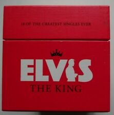 ELVIS PRESLEY The King - 18 CD Singles Box Set Numbered Limited Edition #23282