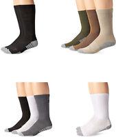 Under Armour Men's Heatgear Tech Crew Socks, Assorted Colors, 3 Pairs