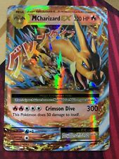POKEMON - MEGA MCHARIZARD EX - Rare HOLO 13/108 (Evolutions) EXC