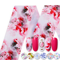 10Rolls/Set Nail Foils Mixed Colors Butterfly Pattern Nail Art Transfer Decals