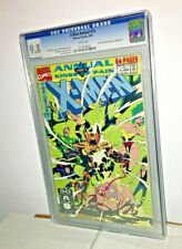 X-Men Annual #15, CGC 9.8, White Pages