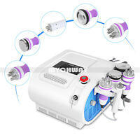 5in1 40K Cavitation Vacuum RF Radio Frequency Body Slim Weight Lose Spa Machine