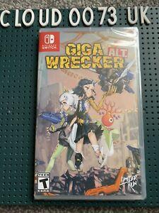 Giga Wreaker Alt. Limited Run #33 - Nintendo Switch - New Sealed NB