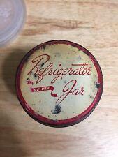 Vintage Reuse Refrigerator Jar Anchor Hocking Glass