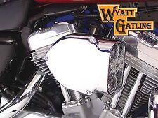 Chrome Wyatt Gatling Air Cleaner Assembly For Harley-Davidson