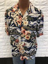Vtg Mens GUESS ? Mens S Hawaiian Shirt NICE