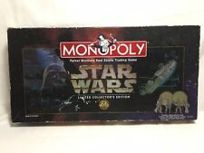 Star Wars Monopoly Limited Collector's Edition 1997 20th Anniversary