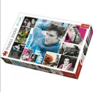 Trefl 1000 Piece Jigsaw Puzzle - Elvis Presley Collage (ETA 28th July)