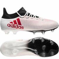 adidas Mens X 17.2 FG Football Boots White RRP £110 CP9187