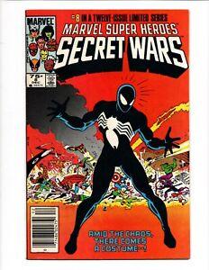 MARVEL SUPER HEROES SECRET WARS # 8 December 1984 BLACK COSTUME SPIDER MAN 1st