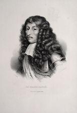 Le grand Condé Louis II. de Bourbon Fronde Mazarin Holland Louis XIV Feldherr