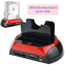 Caja Externa Disco duro ALL-IN-ONE Dual SATA HDD Docking Station USB 2.0