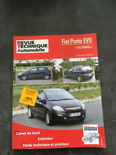 RTA  FIAT PUNTO à partir 10/2009 1.4 multiair 105ch    F123