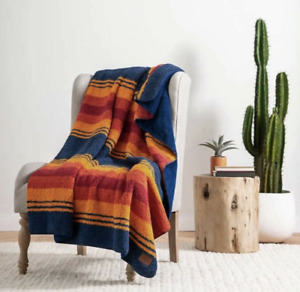 Pendleton Home Collection Grand Canyon Ultra Soft Sherpa Blanket Throw 50 x 70